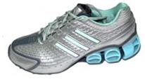 cac824b9443 Calçados Feminino Tenis Adidas Menkar - Prata Roxo   R 349